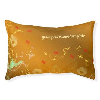 pets Schablone, den Blumenfeiertag, elegant, Farbe Haustierbett