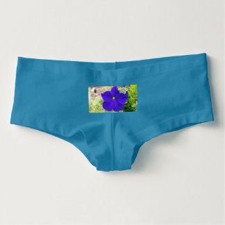 Petunie-Blume Boyshorts Unterwäsche der Frauen