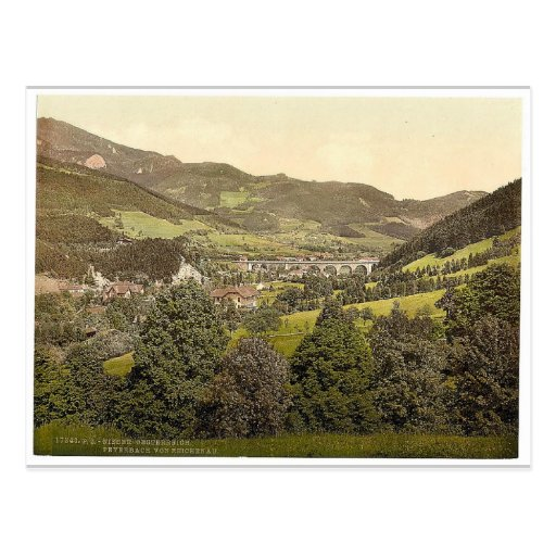 Peyerbach (d.h., Payerbach), von Reichenau, Postkarten