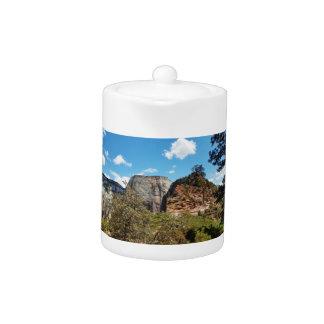 Pfadfinder-Ausblick Zion Nationalpark Utah