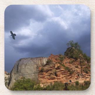 Pfadfinder-Ausblick Zion Nationalpark Utah Getränkeuntersetzer