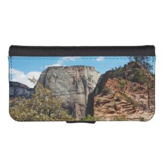 Pfadfinder-Ausblick Zion Nationalpark Utah iPhone SE/5/5s Geldbeutel