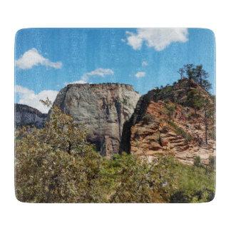 Pfadfinder-Ausblick Zion Nationalpark Utah Schneidebrett