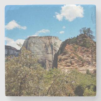Pfadfinder-Ausblick Zion Nationalpark Utah Steinuntersetzer