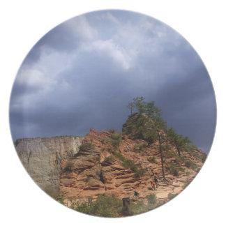 Pfadfinder-Ausblick Zion Nationalpark Utah Teller