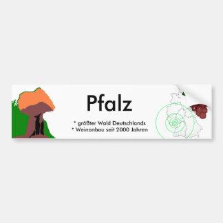 Pfalz Autoaufkleber