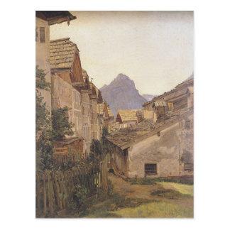 Pfamgasse in St. Wolfgang durch Ferdinand Georg Postkarte