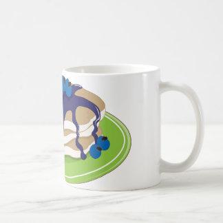 Pfannkuchen-Blaubeere Kaffeetasse