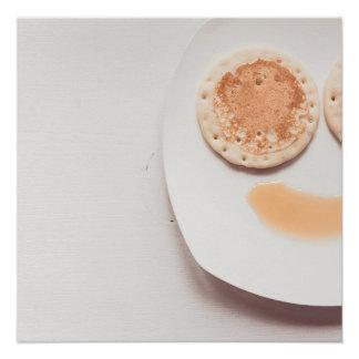 Pfannkuchengesicht Poster