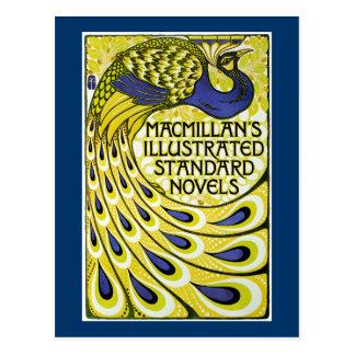 Pfau-Ausgabe, MacMillans Illustraded Postkarte