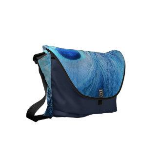 Pfau-Blau Kuriertaschen