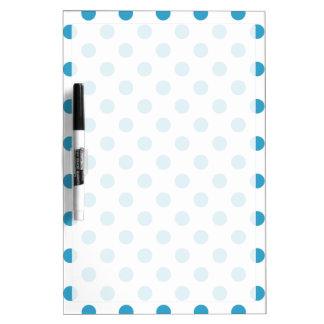 Pfau-Blau-Tupfen-Kreise Memo Board