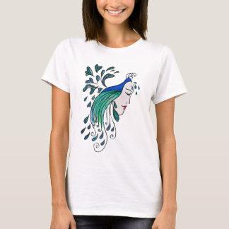 Pfau-Dämmerungs-T-Stück T-Shirt