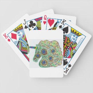 Pfau-Einhorn Bicycle Spielkarten