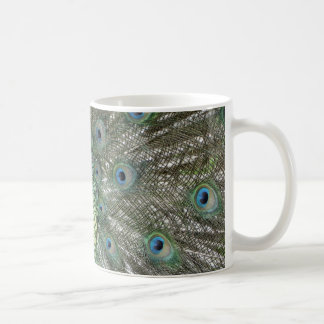 Pfau-Farben Kaffeetasse