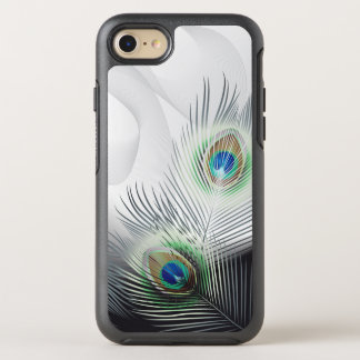 Pfau-Feder-Fantasie OtterBox Symmetry iPhone 8/7 Hülle