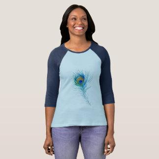Pfau-Feder T-Shirt