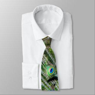 Pfau-Federn Individuelle Krawatte