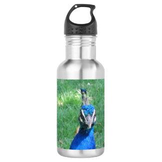 Pfau-Gesicht Trinkflasche