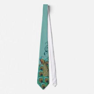 Pfau-Krawatte für Hochzeiten und besondere Anlässe Krawatten