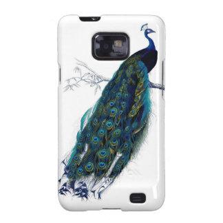 Pfau Samsung rufen Fall an Samsung Galaxy SII Cover