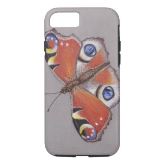 Pfau-Schmetterling iphone 8/7 starker Fall iPhone 8/7 Hülle
