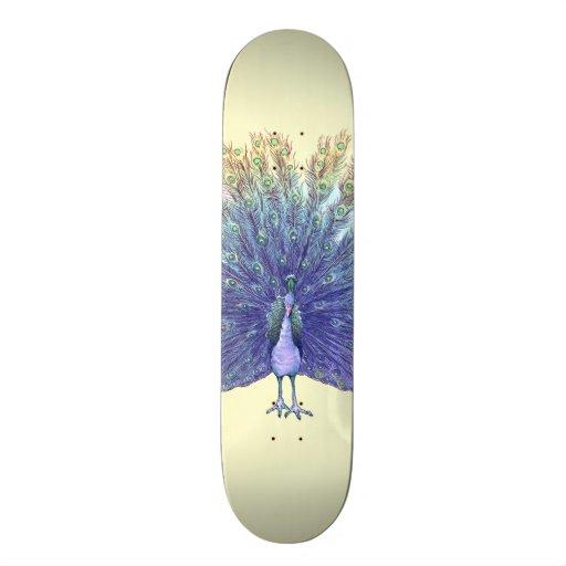 Pfau-Skateboard-Plattform Skateboardbrett