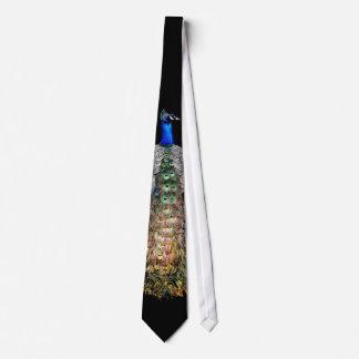 Pfau-Vogel-Tier-Tier-Krawatte Krawatte