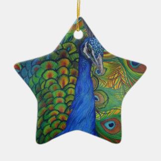 Pfau-Zeichnen Keramik Ornament