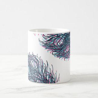 Pfaufeder-Tasse Kaffeetasse