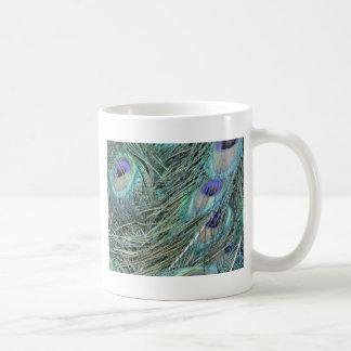 Pfaufedern Kaffeetasse