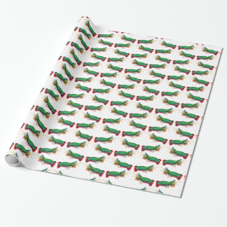 Pfaumantis-Garnele-Packpapier Geschenkpapier