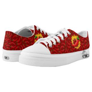 Pfeffer mit Flamme Niedrig-geschnittene Sneaker