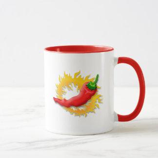 Pfeffer mit Flamme Tasse