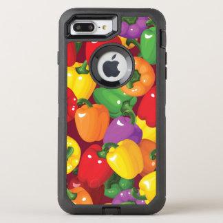 Pfeffer-Muster OtterBox Defender iPhone 8 Plus/7 Plus Hülle