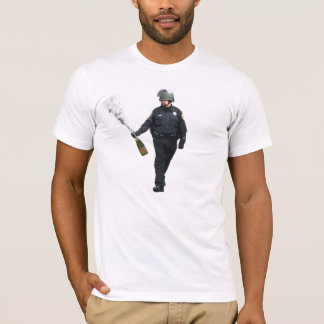 Pfeffer-Spray-Polizist Champagne T-Shirt