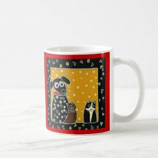 Pfeffer und Freunde Kaffeetasse
