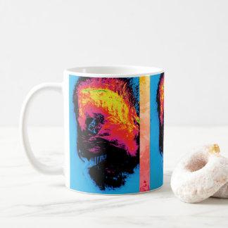 Pfeffer und Plastik zum Schweigen gebracht Kaffeetasse