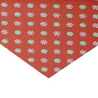 Pfefferminz-Drehungs-Süßigkeits-Seidenpapier Seidenpapier