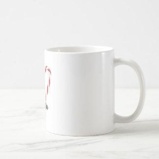 Pfefferminz-Herz Kaffeetasse