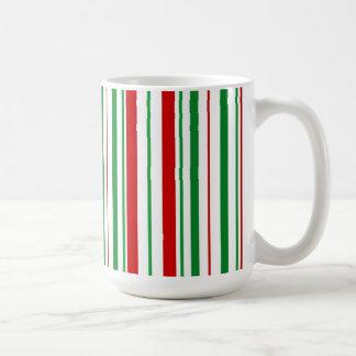 Pfefferminz mit einer Drehungs-WeihnachtsTasse Kaffeetasse