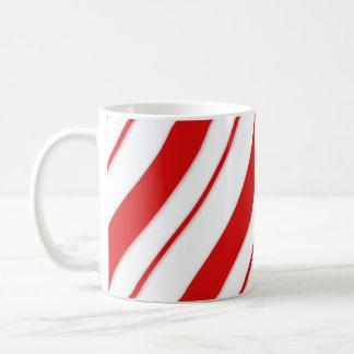 Pfefferminz-Streifen Kaffeetasse