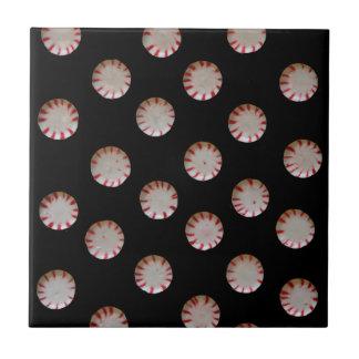 Pfefferminz-Süßigkeits-Fliese Trivet Kleine Quadratische Fliese