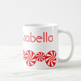 Pfefferminz-Süßigkeits-Gewohnheit personalisiert Kaffeetasse