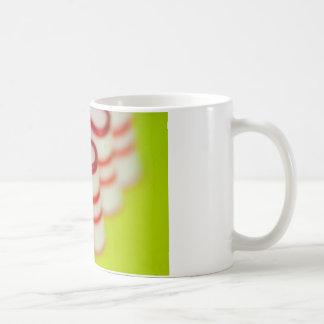 Pfefferminz-Weihnachtsband-Süßigkeit Kaffeetasse
