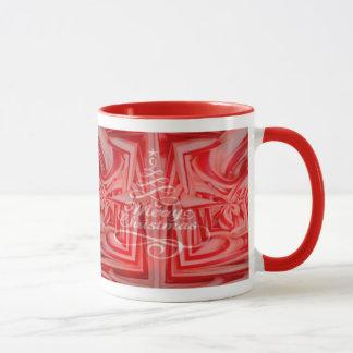 Pfefferminz-Weihnachtskundenspezifische Tasse