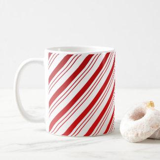 Pfefferminz-Zuckerstange-Tasse Kaffeetasse