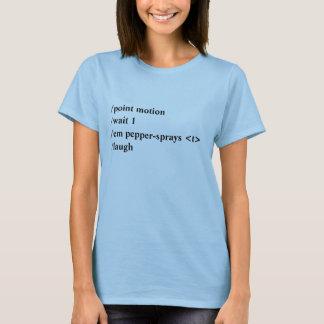 Pfefferspray Makro T-Shirt