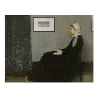 Pfeifer James Abbott - die Mutter des Pfeifers Postkarte