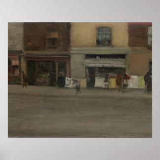 Pfeifer James Abbott McNeill - Chelsea-Geschäfte Poster